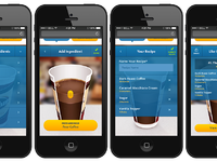Speedway coffee microsite mobile