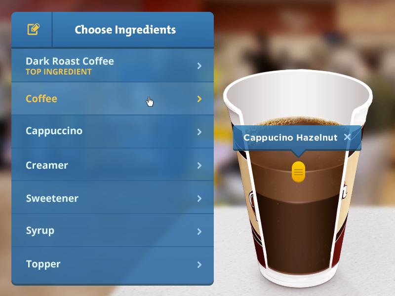 Speedway Coffee Microsite coffee coffee cup coffee recipe cup layers recipe builder speedway coffee
