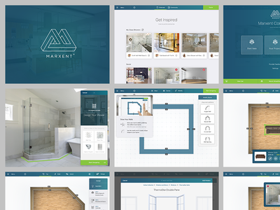Template Work get inspired ios key visuals design your space create assemble home improvement template