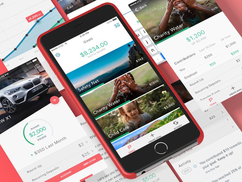Goal savings app