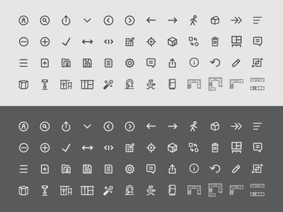 Kitchen Line Art Icons line art icons kitchen kitchen shapes application icons kitchen icons icons