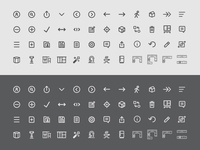 Kitchen Line Art Icons