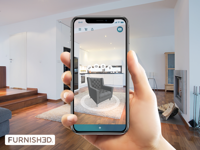 Furnished ipad iphone furnished furniture ar augmented reality ar kit