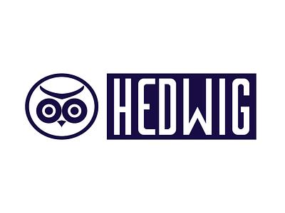 Hedwig logotype typography logos ui logodesign logo illustrator vector art design