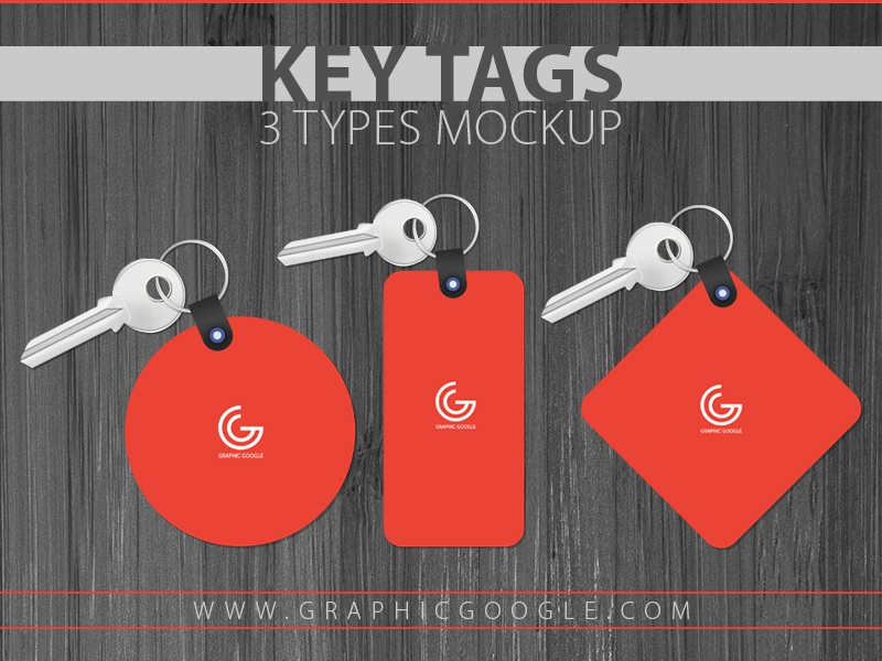 Key Tags 3 Types Mockup 300 by Ess Kay | uiconstock on Dribbble