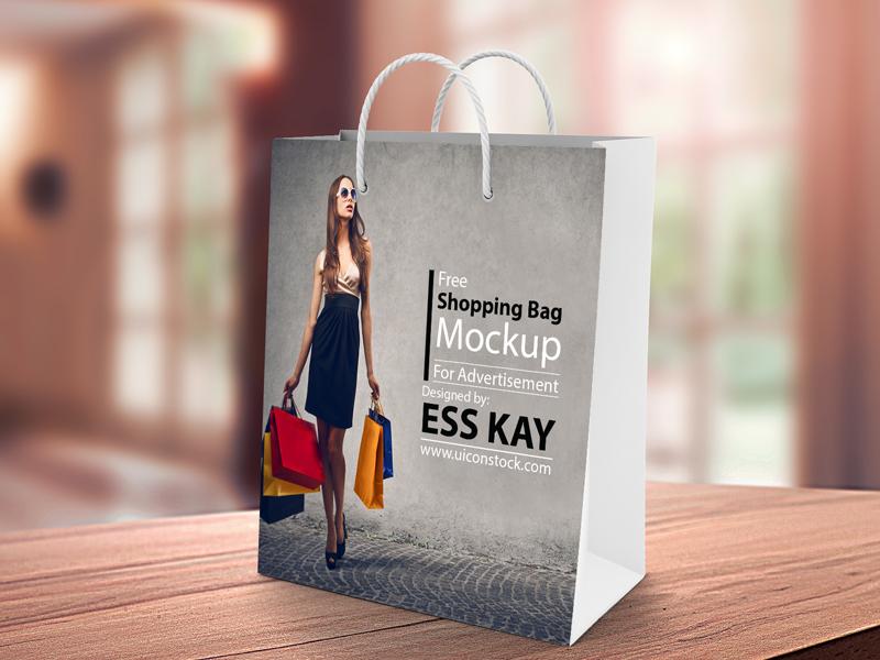 Shopping Bag Mockup  mockup