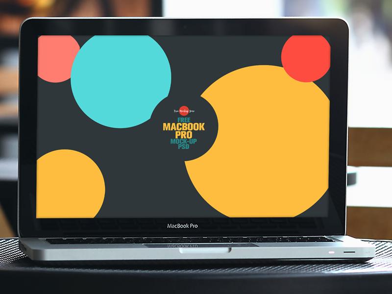 Free MacBook Pro Mock-up Psd mockup pro macbook