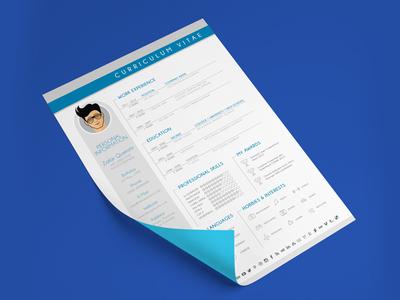 Free Resume Template for Graphic Designer cv free resume resume