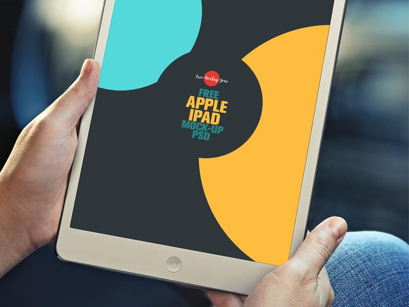 Free Apple iPad Mock-up Psd mock-up ipad mock-up