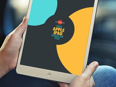 Free Apple iPad Mock-up Psd