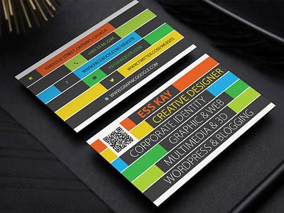 Free Creative Business Card Template Design Ai (Vector File) free business card creative business card business card