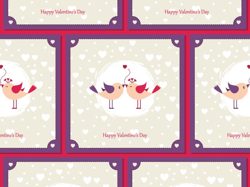 Free Valentine Greeting Card Template Design & Mock-Up Psd card valentine