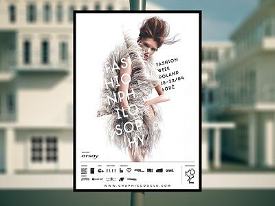 Free Outdoor Advertising Poster Mock-up Psd poster mockup mockup