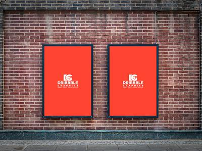 Free Outdoor Street Billboard Poster MockUp Psd billboard mock-up poster mock-up