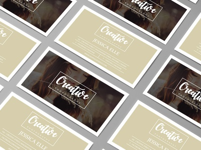 Free Creative Photography Business Card Design Template
