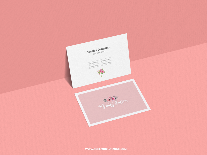 Download Free Classy Business Card Mockup For Presentation