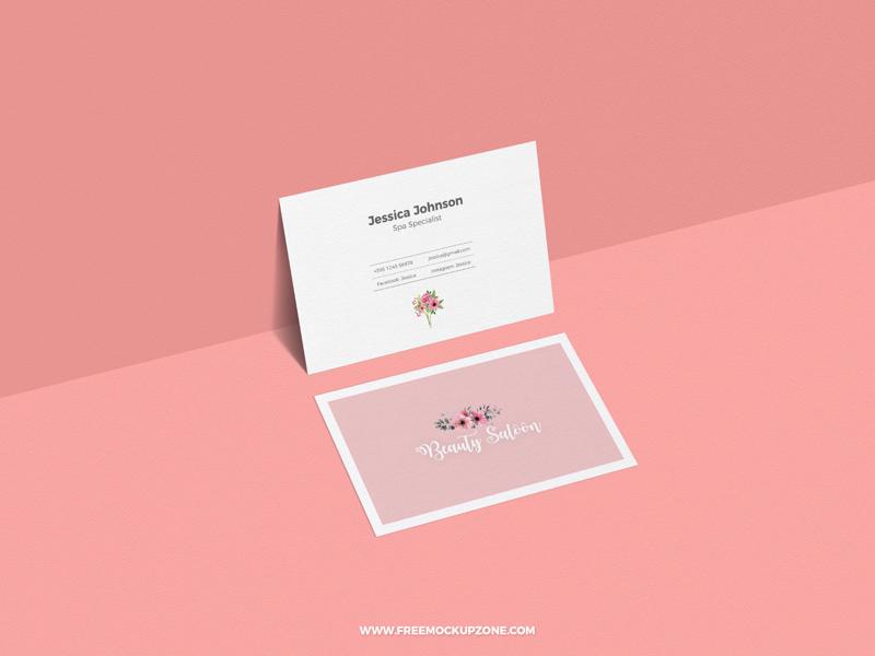 Free Classy Business Card Mockup For Presentation mockup template mockup psd freebie free mockup