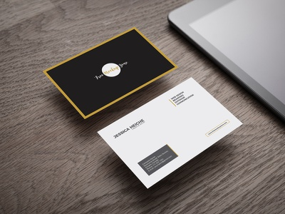 Free Business Card on Wooden Table Mockup mockup template psd mockup psd mockup free mockup