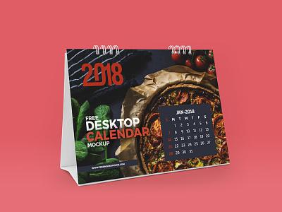Freebie Desktop Calendar Mockup calendarmockup psd freebie freemockup mockup
