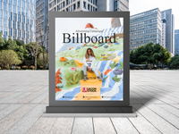 Free Advertising Campaigns Billboard Mockup