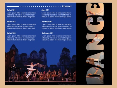 The Universe of Dance - Arts Brochure trifold brochure design trifold brochure trifold flyer design ideas brochure design ideas brochure layout blues rubber ducky masking dancers dance photo editing flyer design flyer brochure design brochure print design graphic design adobe photoshop adobe indesign
