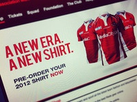 Salford City Reds RLFC New Shirt Release