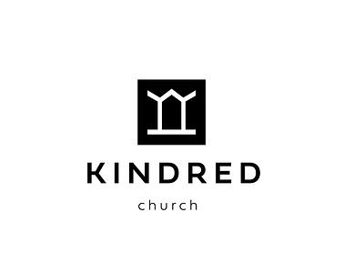 Kindred Church ministry logo design church marketing branding church branding logo church church logo