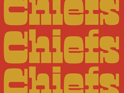 LV Bound manicotti typogaphy font chiefskingdom kingdom superbowllv arrowhead kansas city kc superbowl chiefs