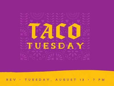 Taco Tuesday ministry design taco tuesday taco