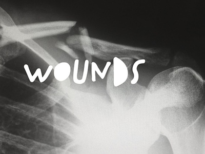 Wounds graphic church series design