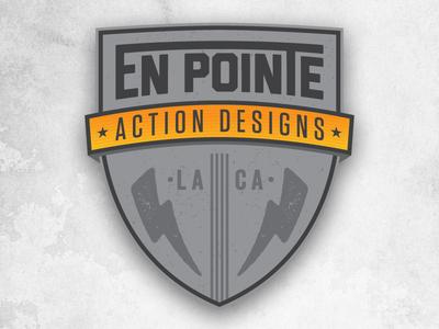 En Pointe Action Designs Logo