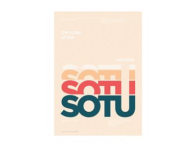 SOTU_poster_04 poster design design typography type daily poster sotu