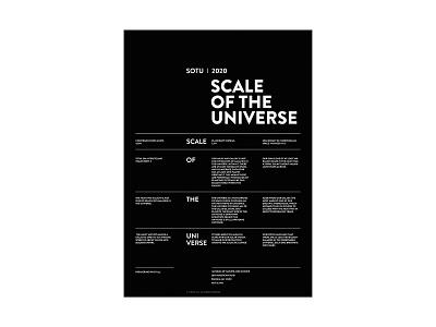 SOTU_10 design typography type poster space universe
