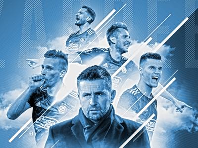 Dinamo Zagreb Football Club graphic design skill dinamo club soccer match derby football photoshop sport design