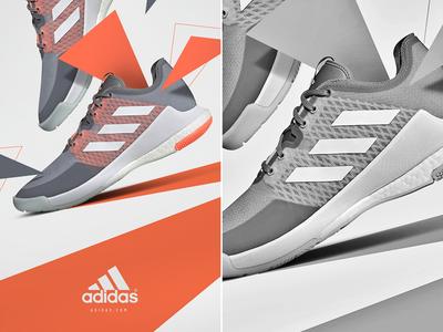 CrazyFlight Adidas 2020 brand design 3d adidas sneakers shoes ad