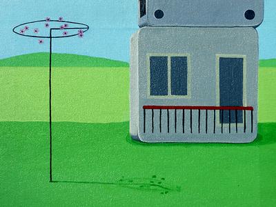 Surroundings... fine arts art show art exhibition art paintings acrylic on canvas