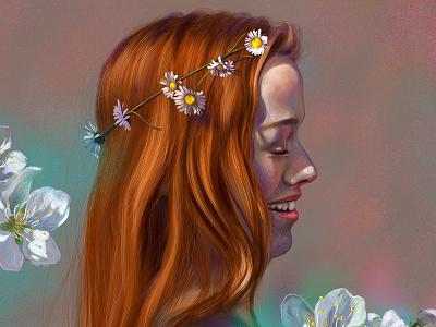 Anne with an E colors fanart tvseries netflix art ipadpro procreate digital art anne