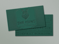 The Hunt - Business Cards