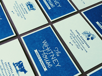 The Whitney House | Business Cards