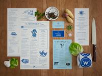 The Whitney House | Branding