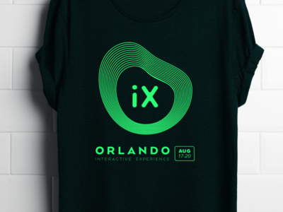 OrlandoiX T-Shirt 2017 Design Competition