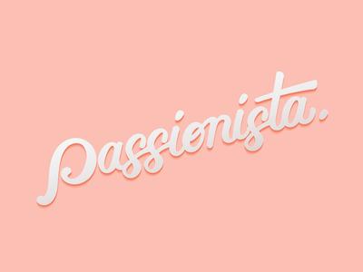 Passionista Handlettering