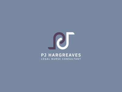PJ Hargreaves Nurse Consulting design concept branding logo