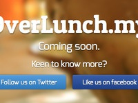 OverLunch.my Landing Page