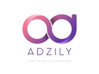 Adzily network logo