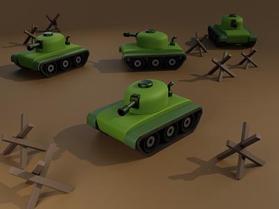 Tanks 3d tank