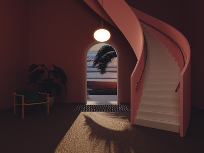 Vacation blender 3d