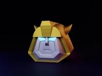 Bumblebee bumblebee transformers yellow blender 3d
