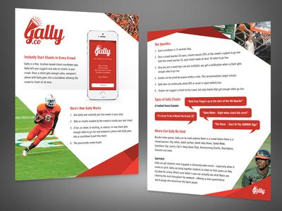 Gally App Flyer