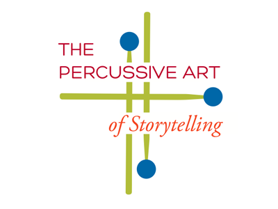 Percussive Art of Storytelling classical music percussion logo